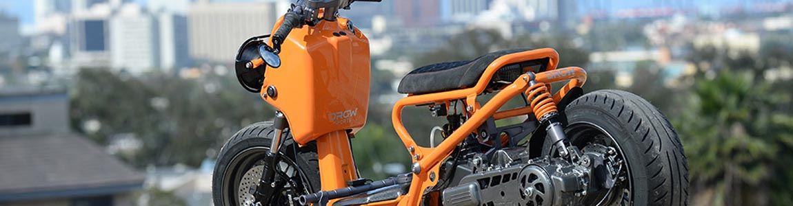 Honda Ruckus Pure Orange - Форум Honda Zoomer
