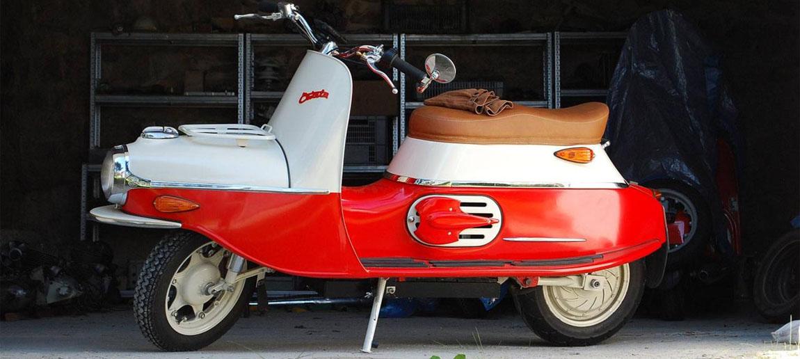 Чезета - мотороллер из Чехословакии - Форум Honda Zoomer